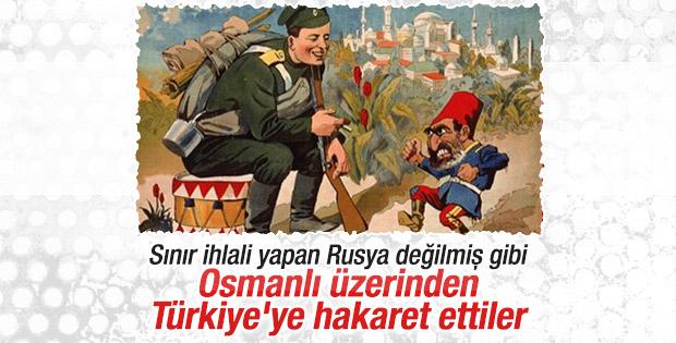 Rusya Büyükelçiliği'nden küstah Osmanlı paylaşımı