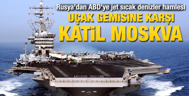Rusya Akdeniz'e uçak gemisi katili gönderiyor