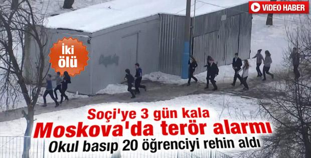 Rusya'da okula saldırı - izle