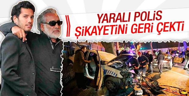 Rüzgar Çetin'in yaraladığı polis şikayetinden vazgeçti
