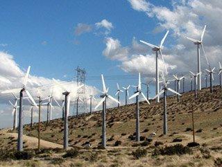 Çeşme'de rüzgar enerjisi santrali karşıtı eylem