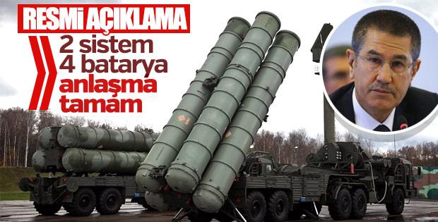 Milli Savunma Bakanı S-400 finansmanı hakkında konuştu
