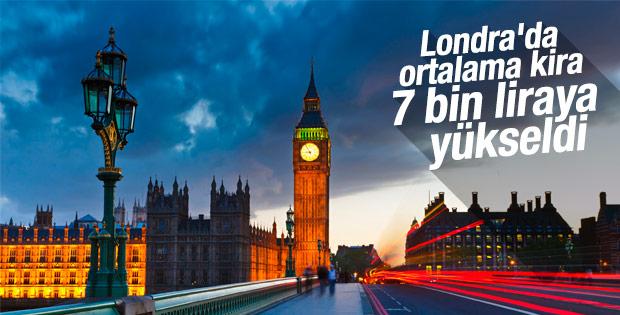 Londra'da kira fiyatları arttı