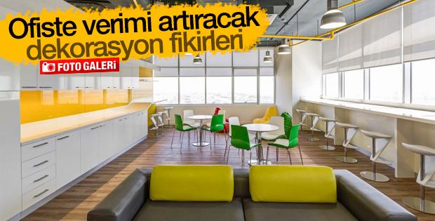 Ofiste verimi artıracak dekorasyon fikirleri