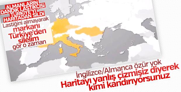 Continental sadece Türkçe özür diliyor