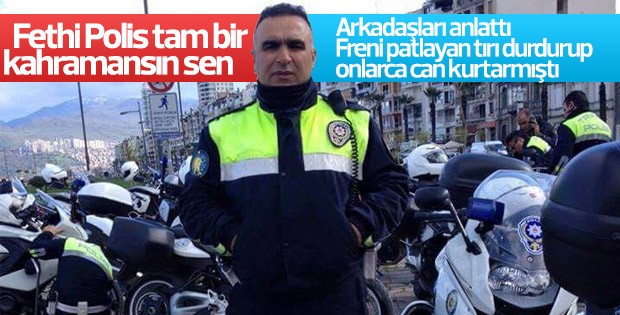 İzmir'de şehit olan polis daha önce de canlar kurtarmış
