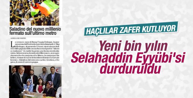 La Repubblica: Selahaddin Eyyübi durduruldu