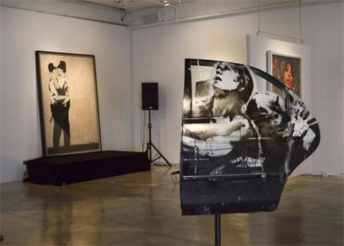 ABD'de sokak sanatı 575 bin dolara satıldı