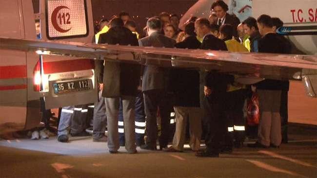 Milli tekvandocu Akbalık'ın cenazesi İzmir'e getirildi