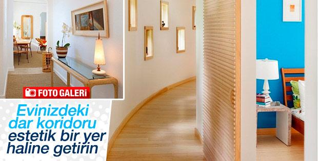 Evinizdeki dar koridoru estetik bir yer haline getirin