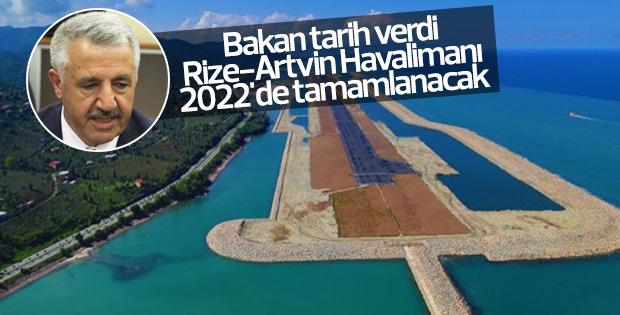 Bakan Rize-Artvin Havalimanı için tarih verdi
