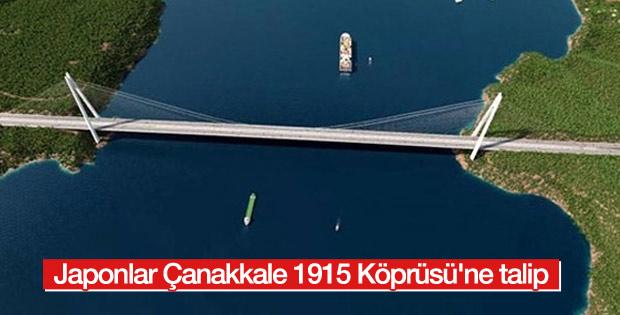Japonlar Çanakkale 1915 Köprüsü'ne talip oldu