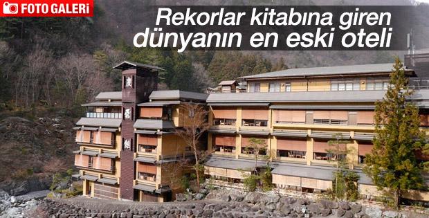 Dünyanın en eski oteli 1311 yaşında