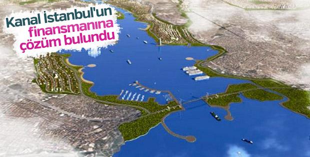 Kanal İstanbul'un finansmanına çözüm bulundu