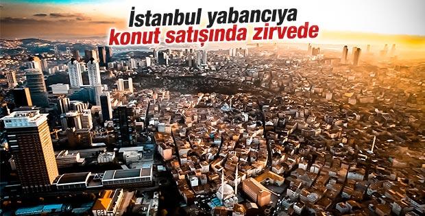 İstanbul yabancıya konut satışında zirvede