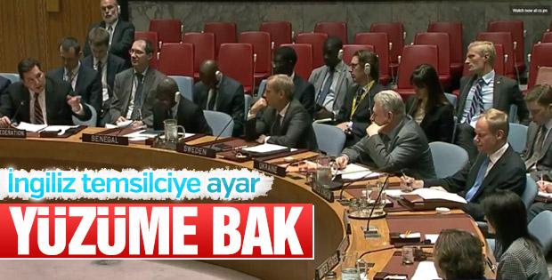 Rusya BM temsilcisi, İngiliz mevkidaşını azarladı