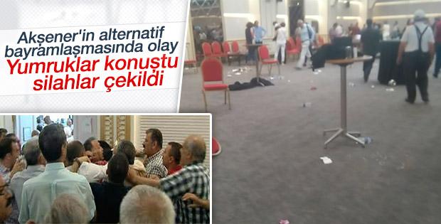 Meral Akşener'in bayramlaştığı otelde kavga