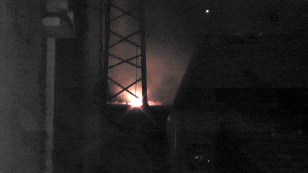 Silopi'de gençlik merkezine molotoflu saldırı