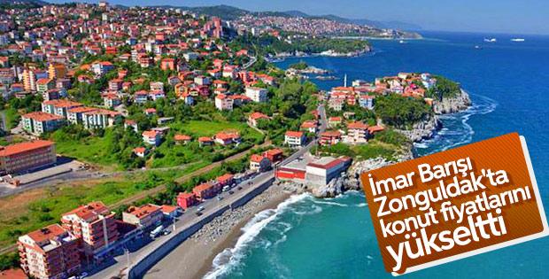 İmar Barışı Zonguldak ve Edirne'de fiyatları artırdı