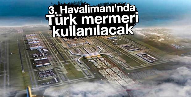 Türk mermeri dev proje için görücüye çıkarıldı