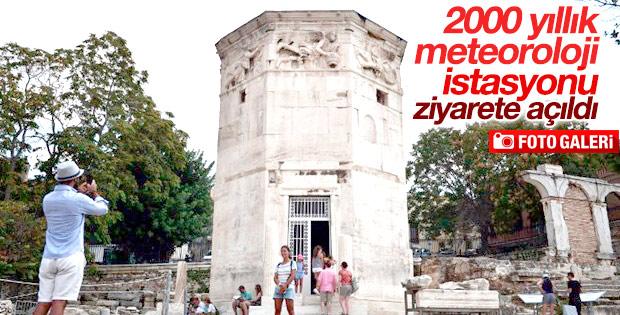 2000 yıllık meteoroloji istasyonu restore edildi