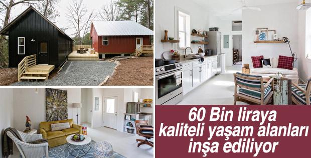 60 bin liraya ev satın almanız mümkün