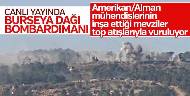 Harekatta 9. gün: Burseya Dağı'na bombardıman
