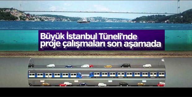 Büyük İstanbul Tüneli'nde proje çalışmaları sürüyor