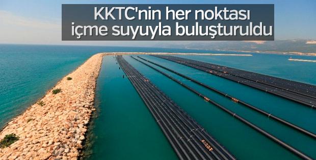 KKTC Su Temin Projesi'nde son durum