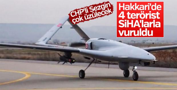 Yüzbaşı Murat Üçöz'ü şehit eden 4 terörist SİHA'lar öldürüldü