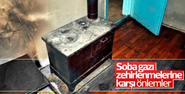 Soba gazı zehirlenmelerine karşı önlemler