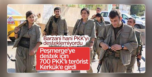 '700 özel eğitimli PKK'lı terörist Kerkük'e girdi'