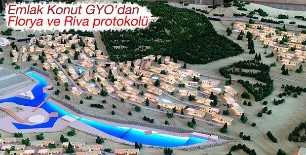 Emlak Konut ile Galatasaray arasında protokol imzalandı