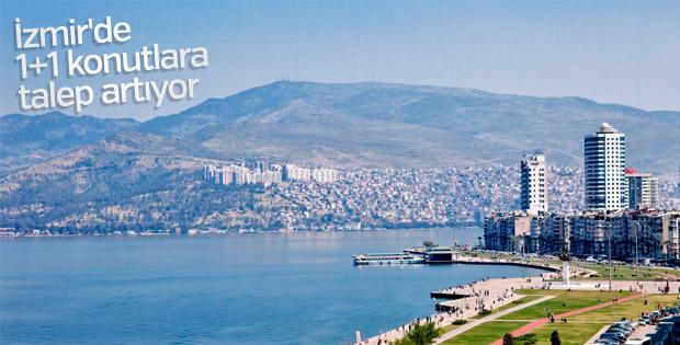 İzmir'de 1+1 konutlara ilgi artıyor
