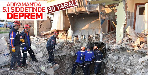 Samsat'ta deprem paniği