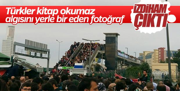 36. Uluslararası İstanbul Kitap Fuarı'na yoğun ilgi