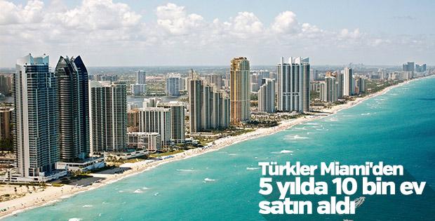 Türkler Miami'nin emlak sektörünü geliştiriyor