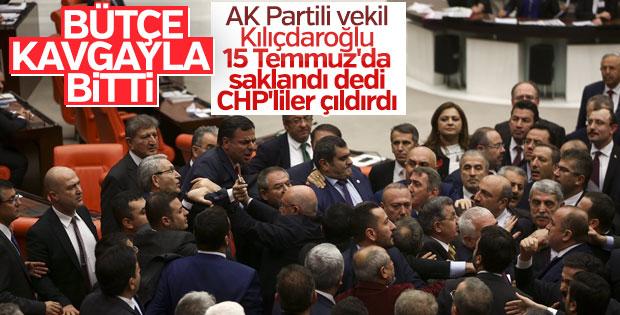 Meclis'te 2017'nin son kavgası