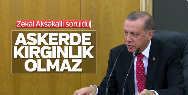 Erdoğan Ürdün seyahati öncesi konuştu