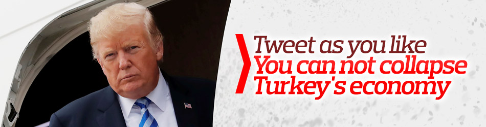 Trump continues to threat Turkey