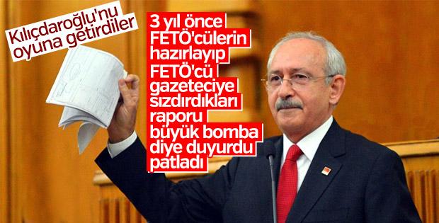 Kılıçdaroğlu'nun MİT raporu iddiası FETÖ kaynaklı