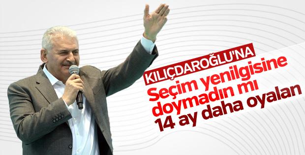 Başbakan Yıldırım'dan Kılıçdaroğlu'na cevap