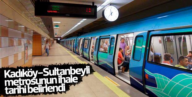 Kadıköy-Sultanbeyli metrosunun ihale tarihi belli oldu