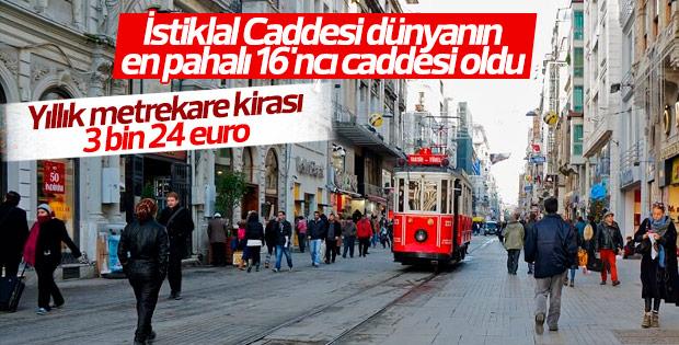 Dünyanın en pahalı 16'ncı caddesi belli oldu
