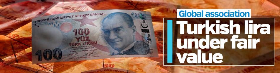 'Turkish lira under fair value' says IIF