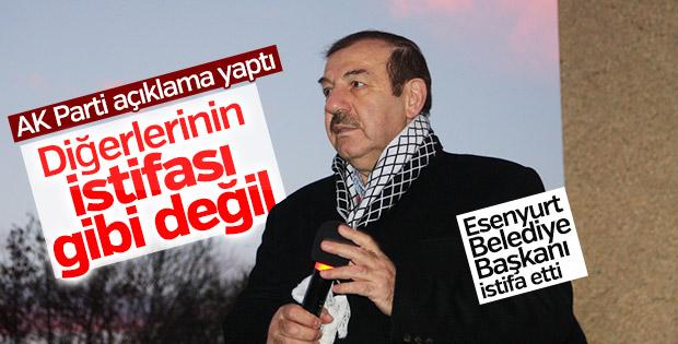 AK Parti'den Kadıoğlu'nın istifasıyla ilgili açıklama