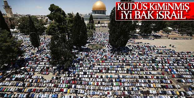 Filistin'de Ramazan'ın ilk Cuma'sı