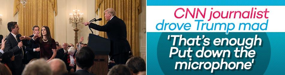 Trump called CNN journalist Acosta 'rude'