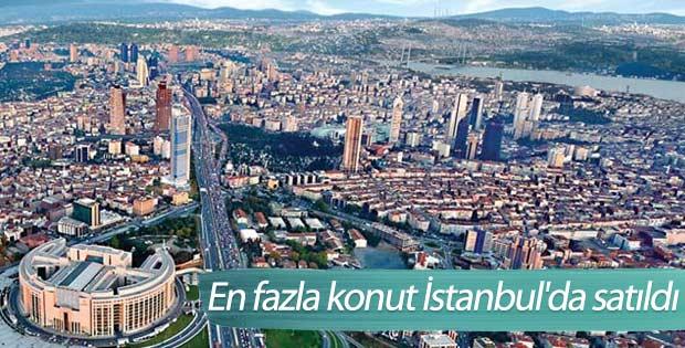 En fazla konut İstanbul'da satıldı