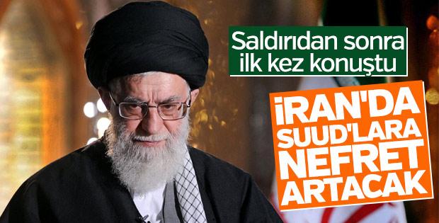 Hamaney: Tahran saldırıları ABD nefretini arttıracak